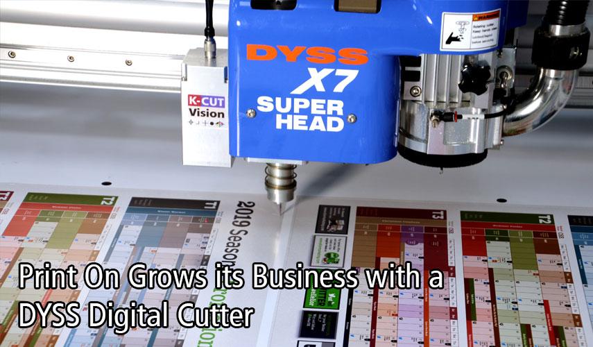 DYSS X7 Superhead cutting vinyl